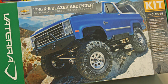 Vaterra Ascender K5 Blazer Kit Build – Part 1