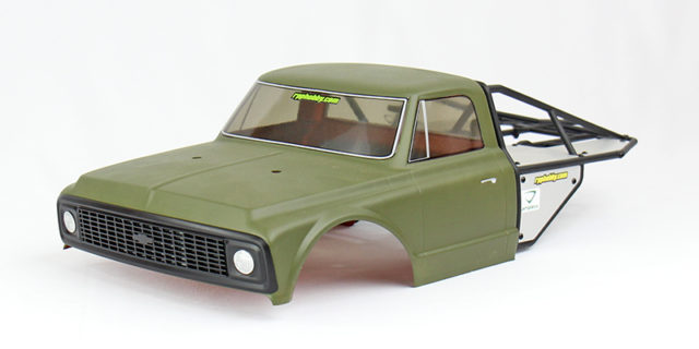 Painting Lexan Bodies – Vaterra 1972 Chevrolet K10 Pickup