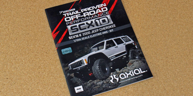 Axial SCX10 II Kit Build – Part 1